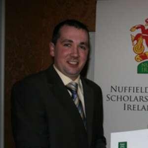 Brian Reidy Nuffield Scholar 2009 Profile Picture